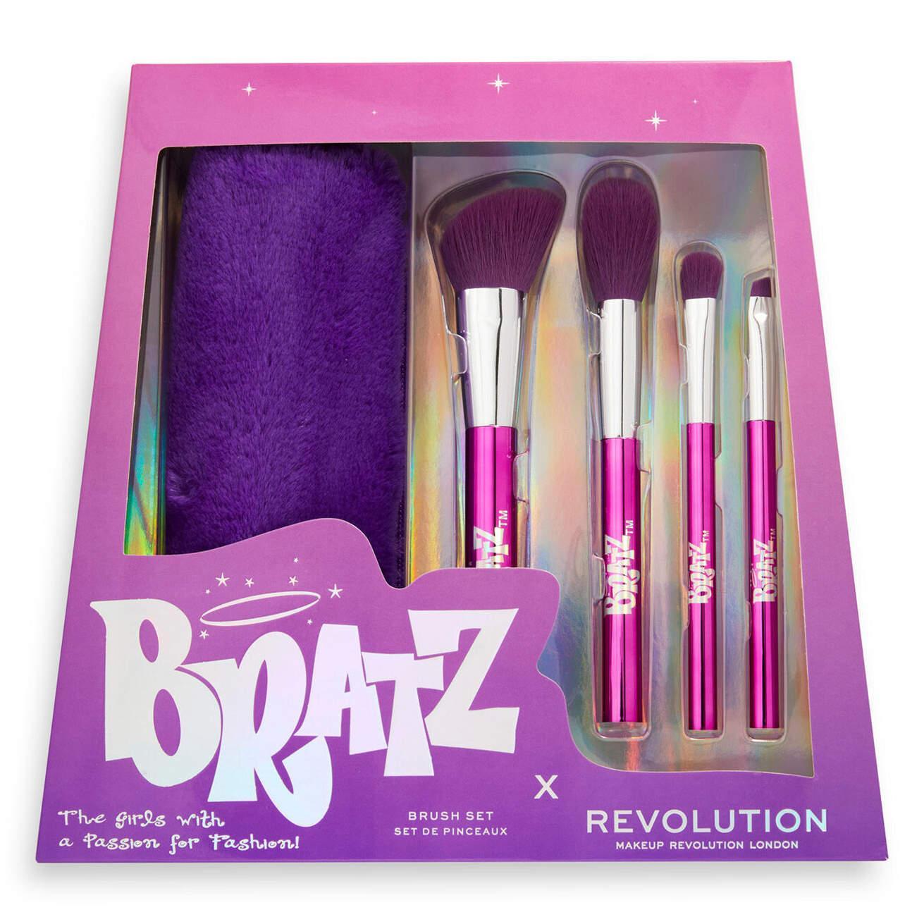 Makeup Revolution x Bratz Brush Set Closed