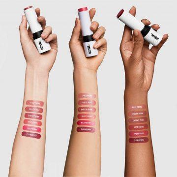 Makeup by Mario Soft Sculpt™ collection Soft Pop Blush Stick Arm Swatches