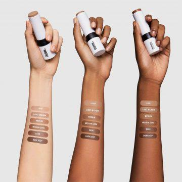 Makeup by Mario Soft Sculpt™ collection Soft Sculpt™ Shaping Stick Arm Swatches