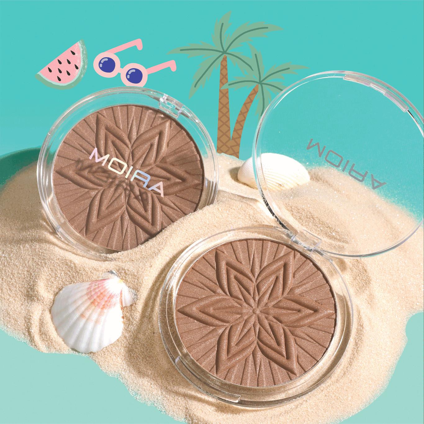Moira Cosmetics Sun Glow Face & Body Bronzer In 001 Sunkissed