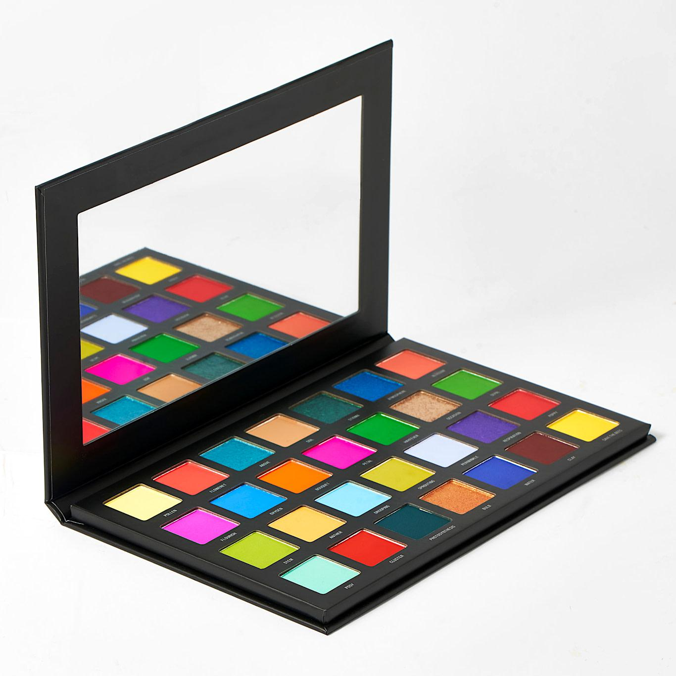 Sample Beauty The Blooming Lovely Palette Open Angled
