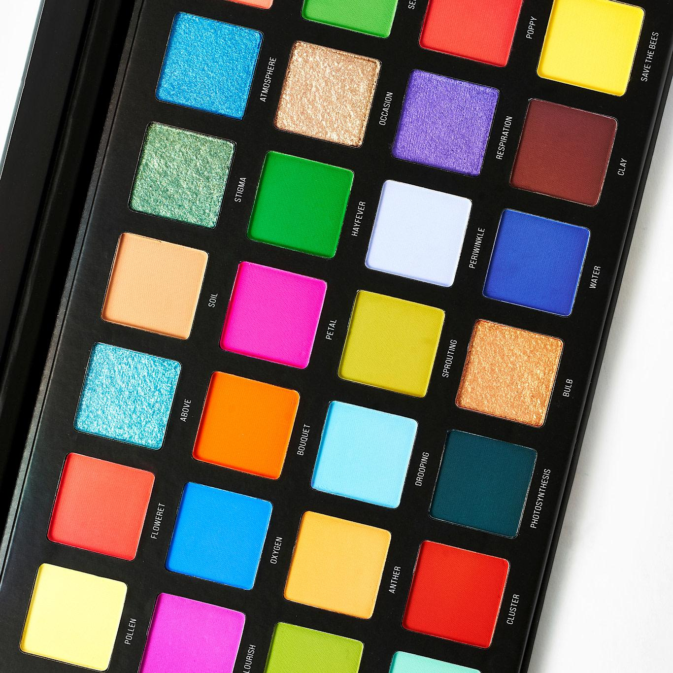 Sample Beauty The Blooming Lovely Palette Open Closer