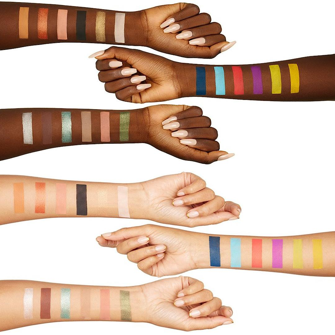 Treslúce Beauty Becky Made Me Do It Collection I Am Shadow Palette Arm Swatches