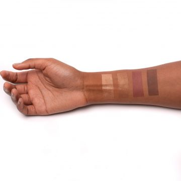 UOMA Beauty High Life Face Palette Vol. 1 Arm Swatches