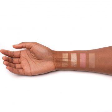 UOMA Beauty High Life Face Palette Vol. 2 Arm Swatches