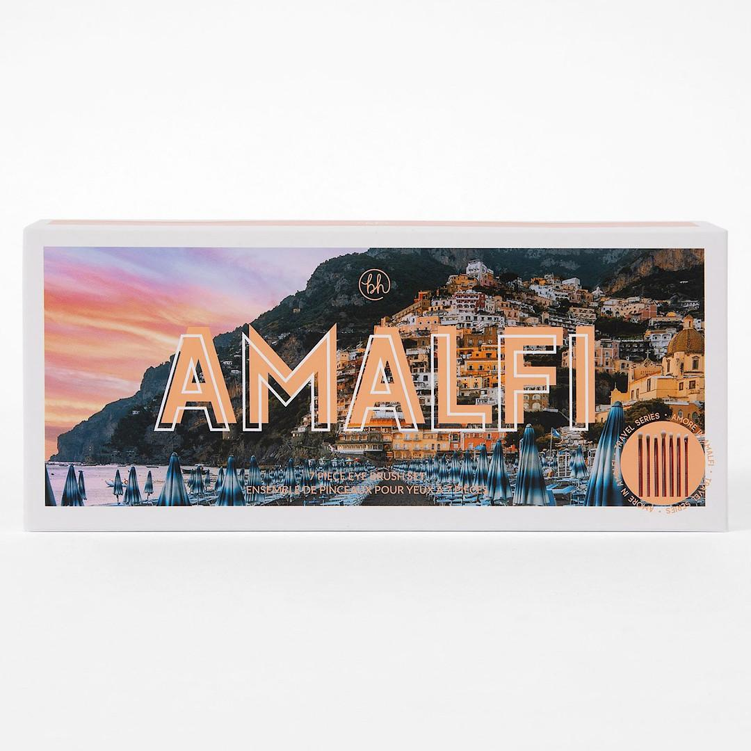 BH Cosmetics Travel Series Amore In Amalfi 7 Piece Brush Set Box