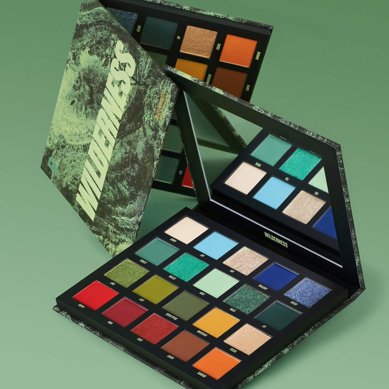 Beauty Bay Wilderness Palette Open With Cover