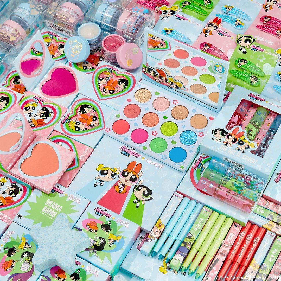 ColourPop Cosmetics The Powerpuff Girls x ColourPop Collection Promo Alt