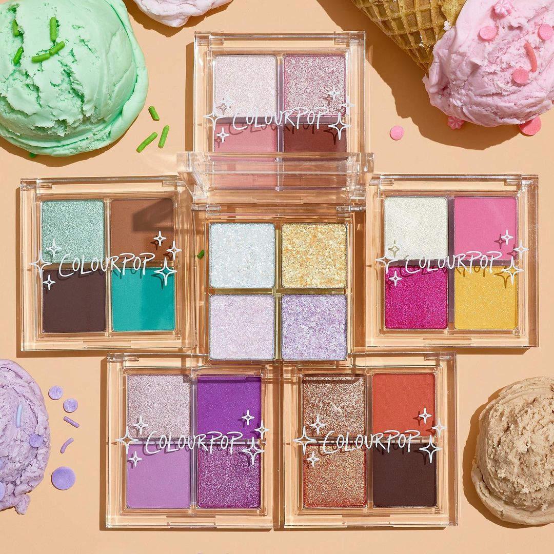 Colección Ice Cream Bites de ColourPop