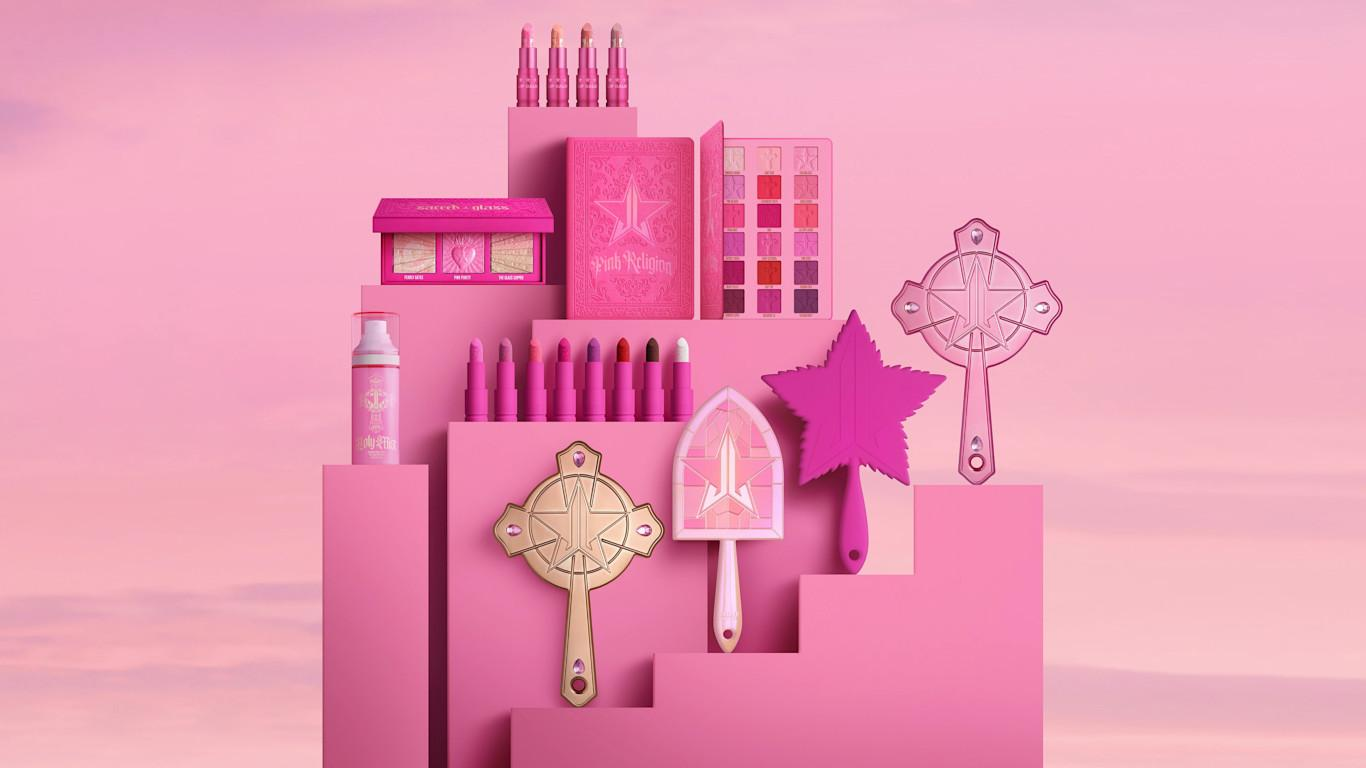 Jeffree Star Cosmetics Pink Religion Collection Blog Post Cover