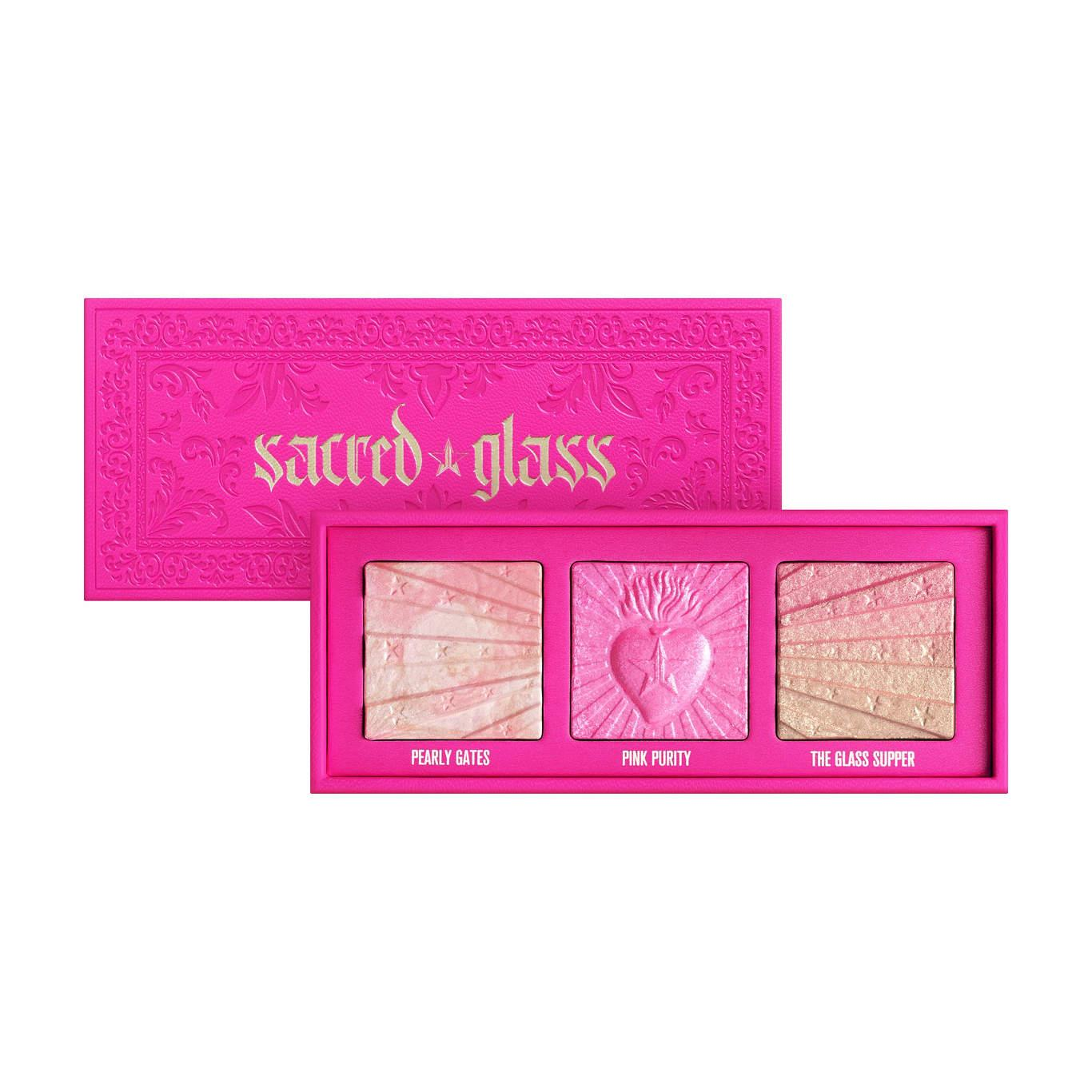 Jeffree Star Cosmetics Pink Religion Collection Sacred Glass Extreme Frost Palette