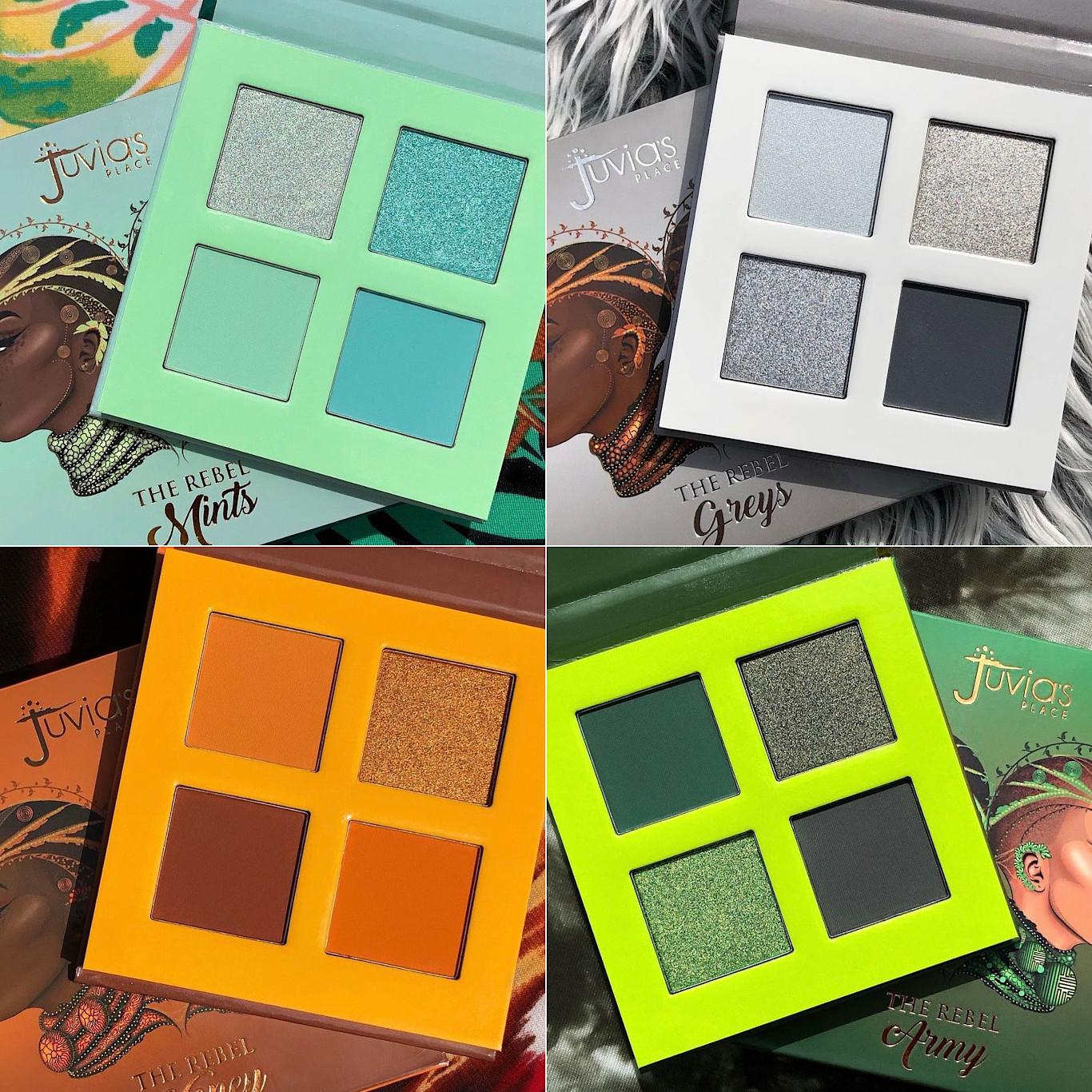 Juvia's Place The Rebel Eyesadow Palettes Post Cover