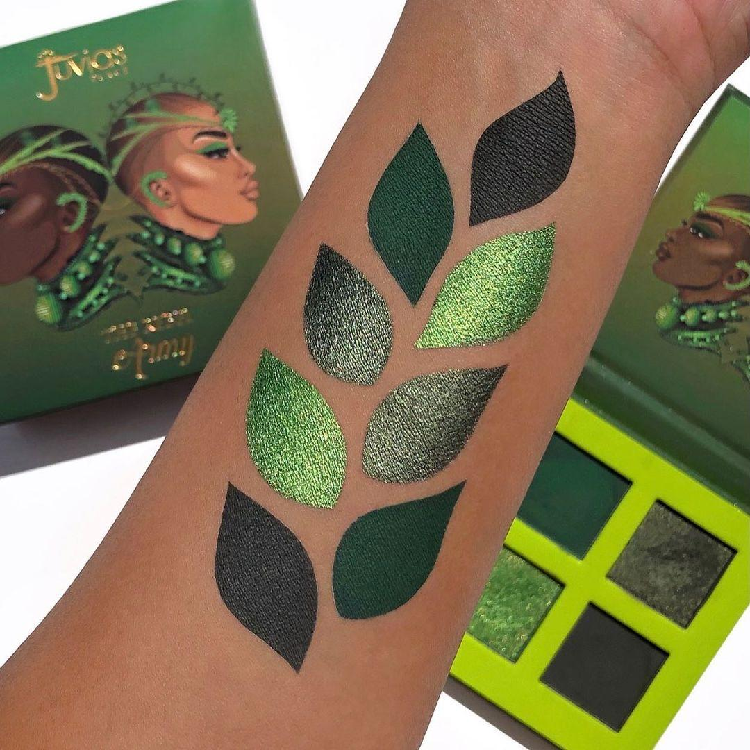 Juvia's Place The Rebel Eyesadow Palettes The Rebel Army Arm Swatches