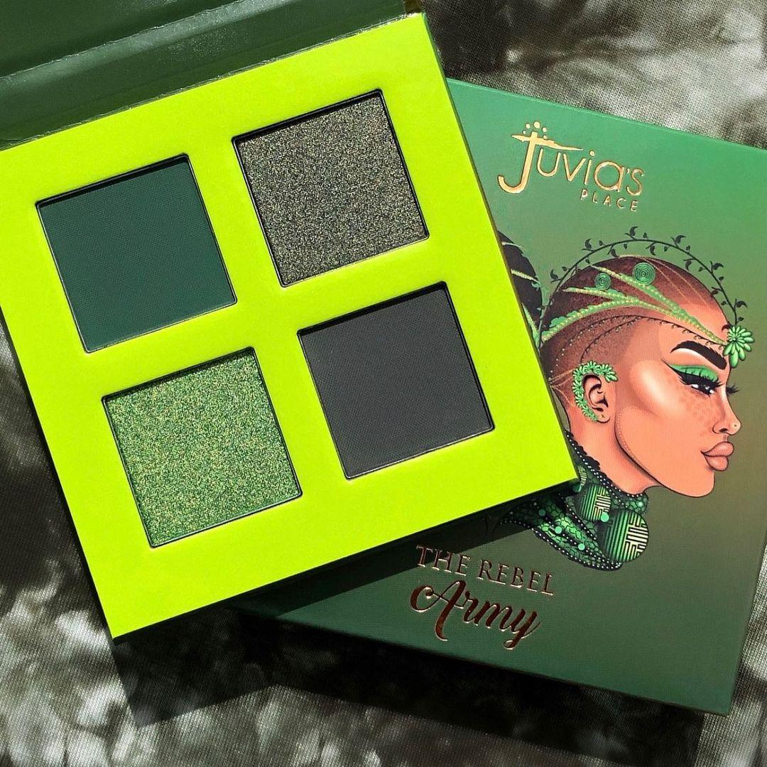 Juvia's Place The Rebel Eyesadow Palettes The Rebel Army Promo