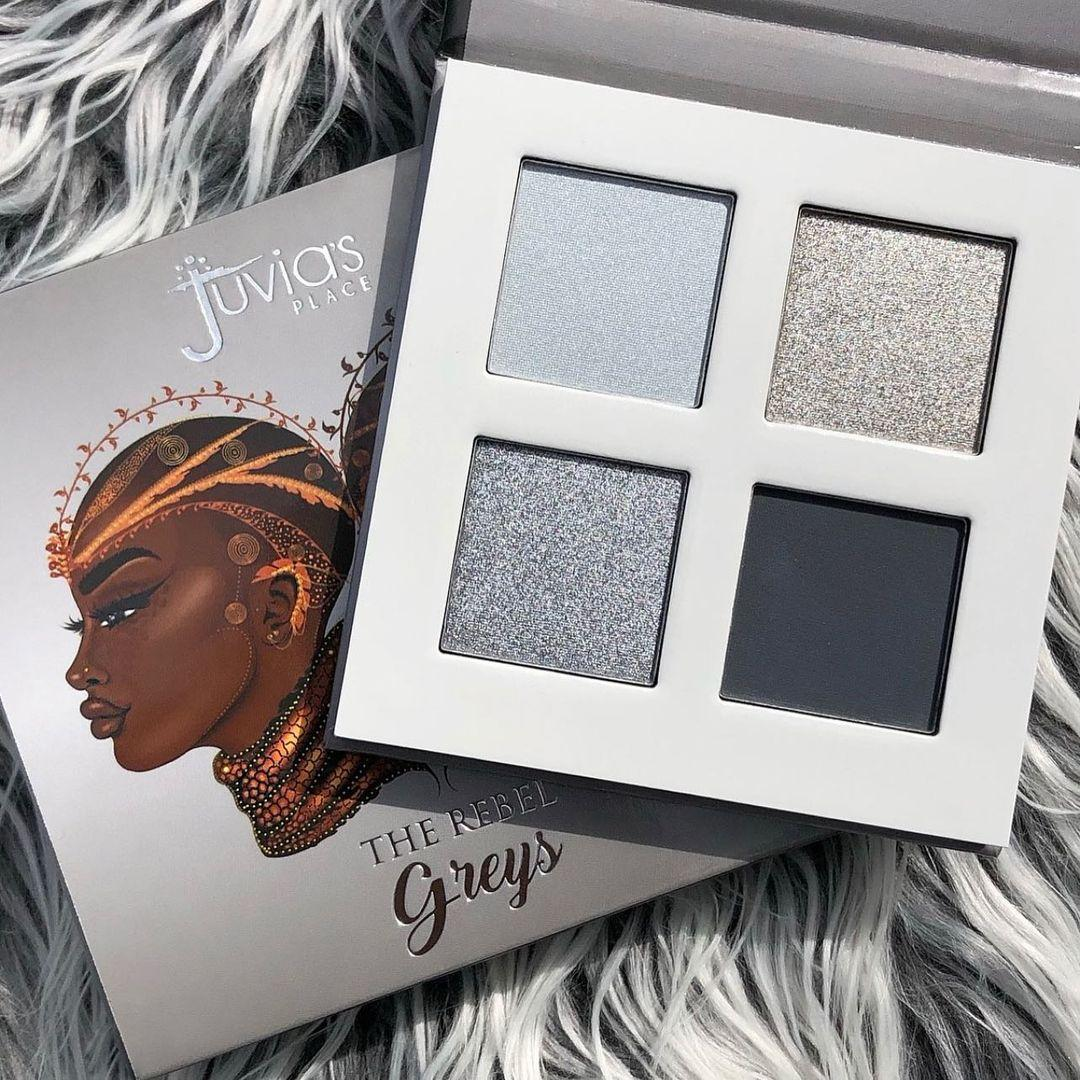 Juvia's Place The Rebel Eyesadow Palettes The Rebel Grey Promo