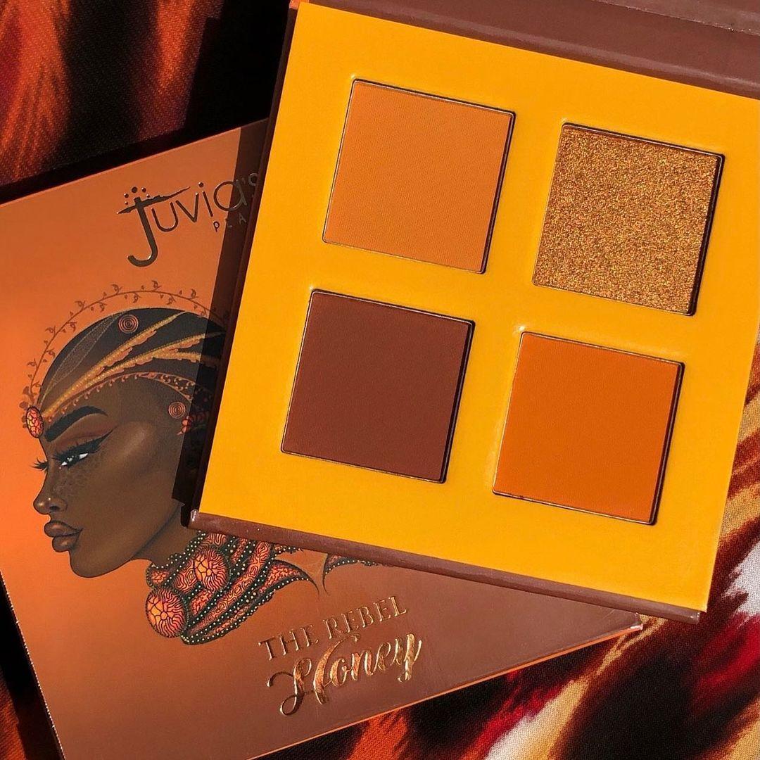 Juvia's Place The Rebel Eyesadow Palettes The Rebel Honey Promo