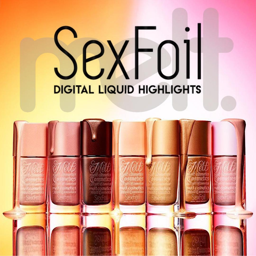 SexFoil Digital Liquid Highlights de Melt Cosmetics
