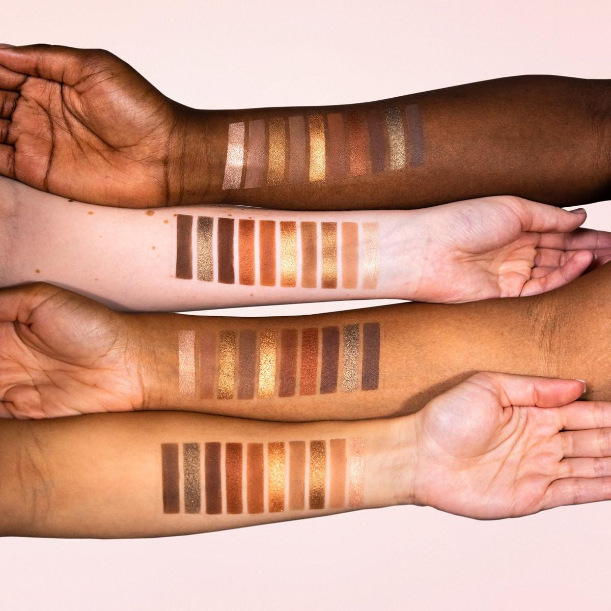 ZOEVA Cosmetics Together We Grow Eyeshadow Palette Arm Swatches